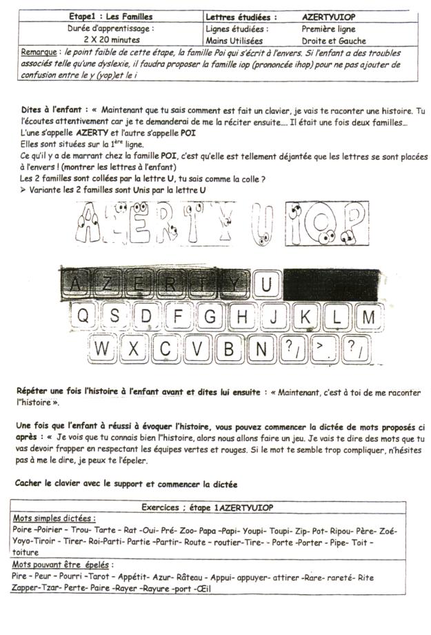 voici une m thode pour apprendre le clavier pr coce dys et serein. Black Bedroom Furniture Sets. Home Design Ideas